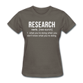 """Research"" (white) - Women's T-Shirt"