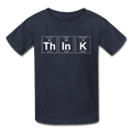 Gray ThInK Periodic Table Kids' T-Shirt