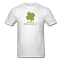 "UNPUBLISHED - Spreadshirt Article not found | ""Lucky Biologist"" - Men's T-Shirt - T-Shirt - ScienceT-Shirts"