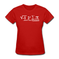"Red ""I Ate Pi"" Women's T-Shirt"