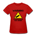 """Warning Compressed Gas Inside"" - Women's T-Shirt"