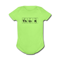 Green ThInK Baby Short Sleeve Periodic Table One Piece
