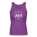 """Ah! The Element of Surprise"" - Women's Longer Length Fitted Tank - Tank Top - ScienceT-Shirts"