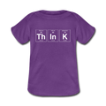 Purple ThInK Baby Lap Shoulder Periodic Table T-Shirt