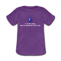 """If You Like Water"" - Baby Lap Shoulder T-Shirt - T-Shirt - ScienceT-Shirts"