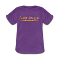 """Bazinga"" - Baby Lap Shoulder T-Shirt - T-Shirt - ScienceT-Shirts"