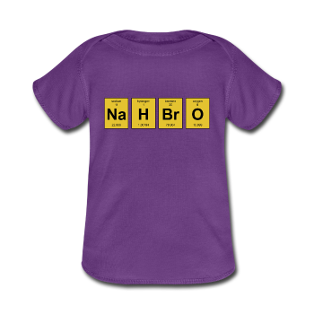 "UNPUBLISHED - Spreadshirt Article not found | ""NaH BrO"" - Baby Lap Shoulder T-Shirt - T-Shirt - ScienceT-Shirts"