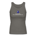 """If You Like Water"" - Women's Longer Length Fitted Tank - Tank Top - ScienceT-Shirts"