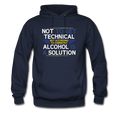 Blue Alcohol Is A Solution Men's Hoodie