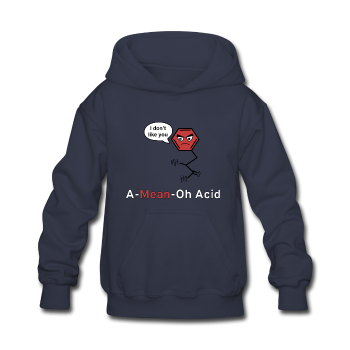 """A-Mean-Oh Acid"" - Kids' Hoodie - Hoodie - ScienceT-Shirts"