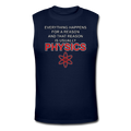 "Blue ""Physics"" Men's Muscle T-Shirt"