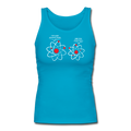 "UNPUBLISHED - Spreadshirt Article not found | ""Lost an Electron"" - Women's Longer Length Fitted Tank - Tank Top - ScienceT-Shirts"