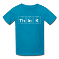 Blue ThInK Periodic Table Kids' T-Shirt