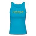"""Bazinga"" - Women's Longer Length Fitted Tank"
