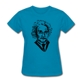 """Albert Einstein"" - Women's T-Shirt - T-Shirt - ScienceT-Shirts"