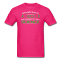 Pink Stand Back I'm Going To Try Science Men's T-Shirt