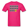 Pink BatMan Periodic Table Men's Science T-Shirt