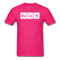 Pink BaCoN Periodic Table Men's Science T-Shirt