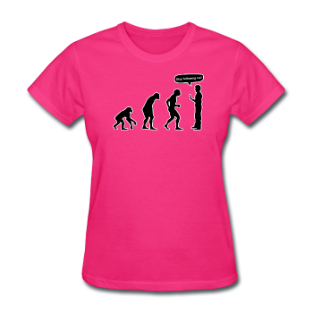 """Stop Following Me"" - Women's T-Shirt"