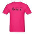 Pink Think Periodic Table Science Men's T-Shirt