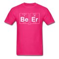 Pink BeEr Periodic Table Science Men's T-Shirt