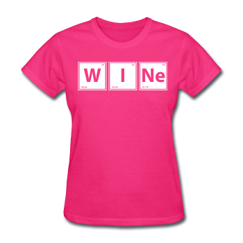 "UNPUBLISHED - Spreadshirt Article not found | UNPUBLISHED - Spreadshirt Article not found | ""WINe"" - Women's T-Shirt - T-Shirt - ScienceT-Shirts"