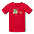 Red Yoda One For Me Star Wars Kids' T-Shirt