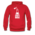 Red Drop The Base Men's Hoodie