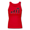 """Stop Following Me"" - Women's Longer Length Fitted Tank"