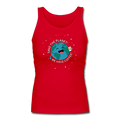 """Save the Earth"" - Women's Longer Length Fitted Tank"