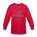"""Everything Happens for a Reason"" - Kids' Long Sleeve T-Shirt - Long Sleeve Shirt - ScienceT-Shirts"