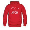 """Never Trust an Atom"" - Men's Hoodie - Hoodie - ScienceT-Shirts"