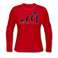 """Stop Following Me"" - Women's Long Sleeve T-Shirt"