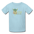 Blue Yoda One For Me Star Wars Kids' T-Shirt