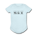 Blue ThInK Baby Short Sleeve Periodic Table One Piece