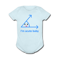 """Acute Baby"" - Baby Short Sleeve One Piece - One Piece - ScienceT-Shirts"