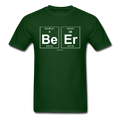 Green BeEr Periodic Table Science Men's T-Shirt