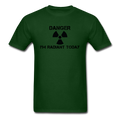 """Danger I'm Radiant Today"" - Men's T-Shirt - T-Shirt - ScienceT-Shirts"