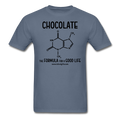 """Chocolate"" - Men's T-Shirt - T-Shirt - ScienceT-Shirts"