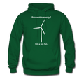"""I'm a Big Fan"" - Men's Hoodie - Hoodie - ScienceT-Shirts"