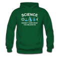 Green Science Doesn't Care Men's Hoodie