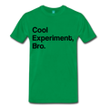 Green Cool Experiment Bro Science Men's Premium T-Shirt