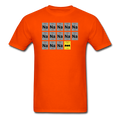 Orange BatMan Periodic Table Men's Science T-Shirt