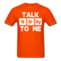 "UNPUBLISHED - Spreadshirt Article not found | UNPUBLISHED - Spreadshirt Article not found | ""Talk NErDy To Me"" (white) - Men's T-Shirt - T-Shirt - ScienceT-Shirts"