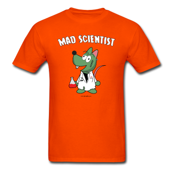 "UNPUBLISHED - Spreadshirt Article not found | UNPUBLISHED - Spreadshirt Article not found | ""Matt the Mad Scientist"" - Men's T-Shirt - T-Shirt - ScienceT-Shirts"