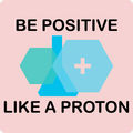 """Be Positive"" (black) - Women's Long Sleeve T-Shirt - Long Sleeve Shirt - ScienceT-Shirts"