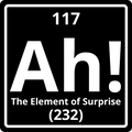 """Ah! The Element of Surprise"" - Women's T-Shirt - T-Shirt - ScienceT-Shirts"