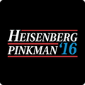 """Heisenberg/Pinkman 2016"" - Men's Long Sleeve T-Shirt - T-Shirt - ScienceT-Shirts"