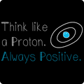 "UNPUBLISHED - Spreadshirt Article not found | UNPUBLISHED - Spreadshirt Article not found | ""Think like a Proton"" (white) - Kids' Tank Top - Tank - ScienceT-Shirts"
