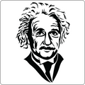 """Albert Einstein"" - Women's T-Shirt"